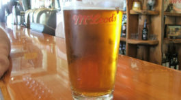 Paradise Pale Ale from Mcleod's Brewery
