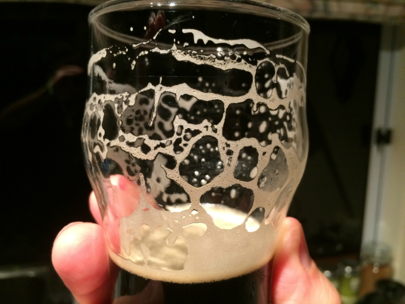 Coffee Stout In Glass