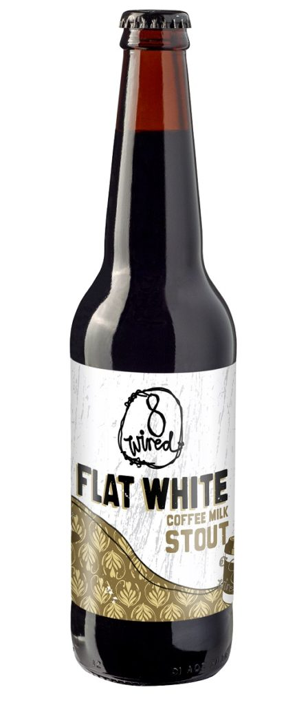 8 wired flat white stout