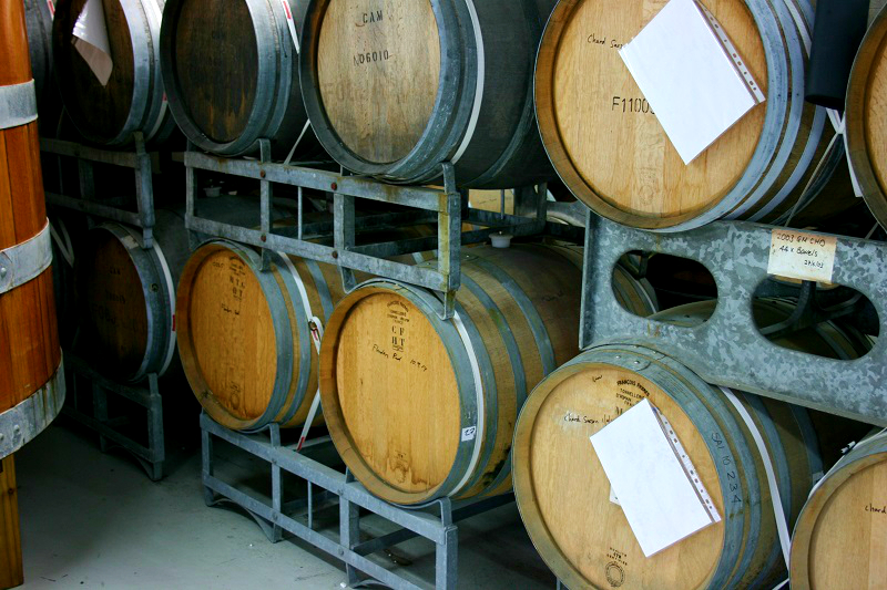 Sour Beer in Barrels