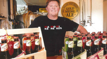 Ron Trigg from Mike's Brewery