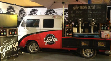 Good George brewing company van