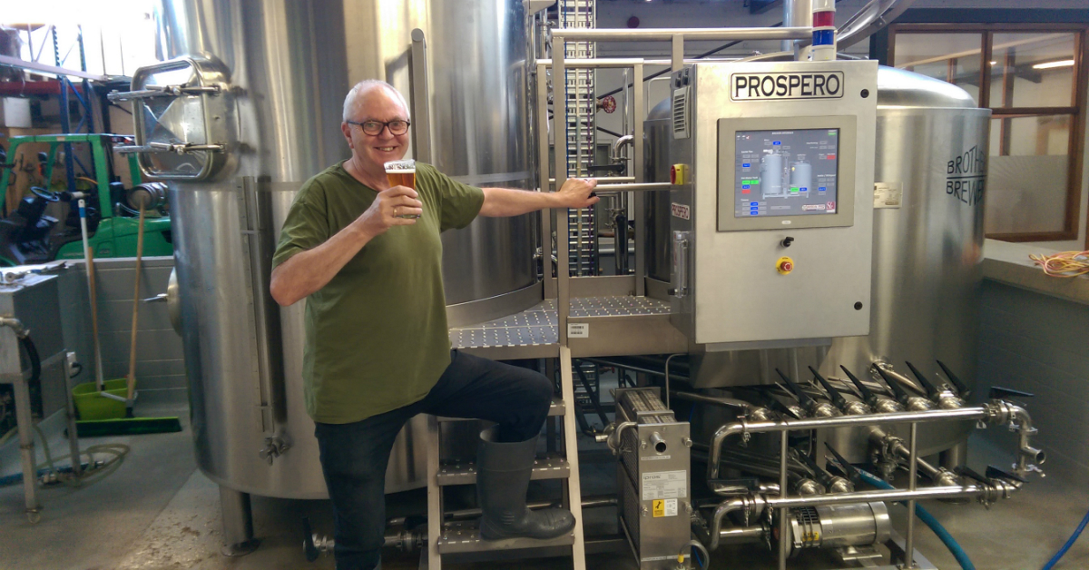 ben mddlemess of brothers beer