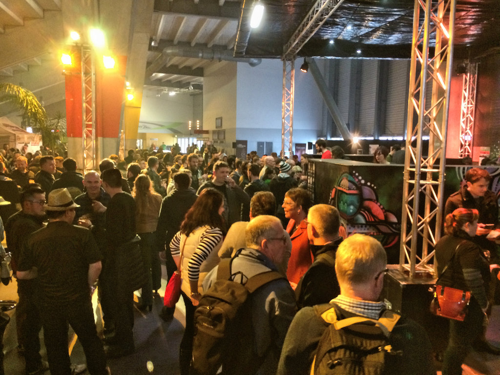 Crowd at Beervana 2015
