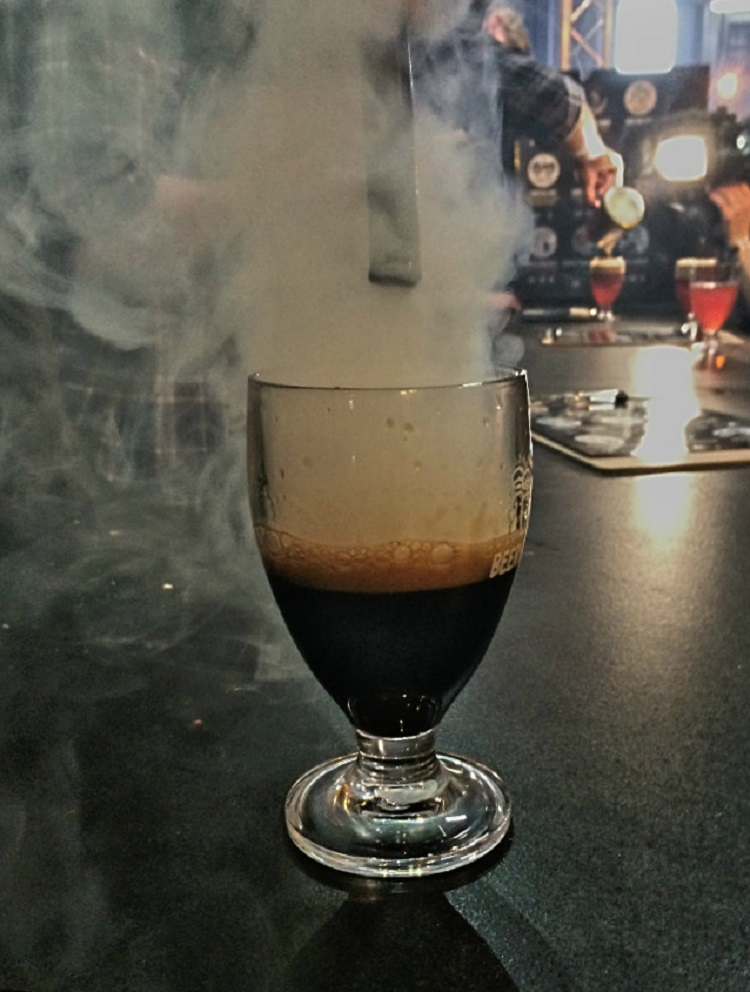 Smoke infused ale from Garage Project