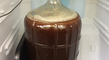 American Amber Ale in Carboy