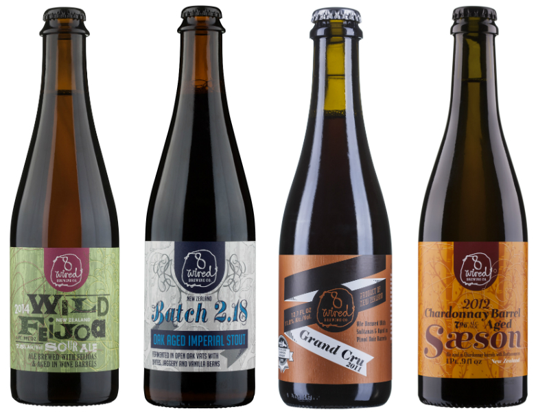8 Wired Brewery Barrel Aged Beers