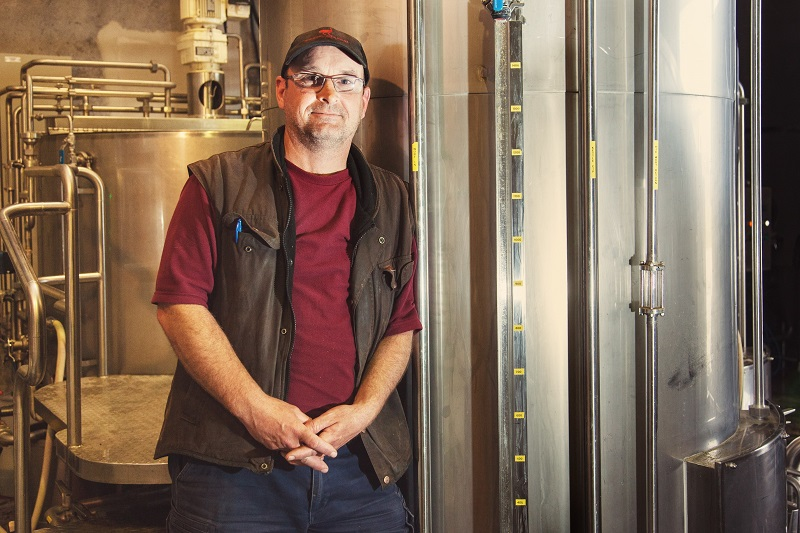 Moa Head Brewer, David Nicholls.
