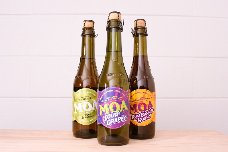 Beers From Moa Brewery