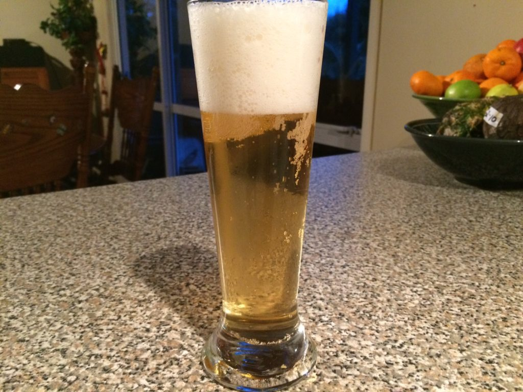 Cream Ale in glass