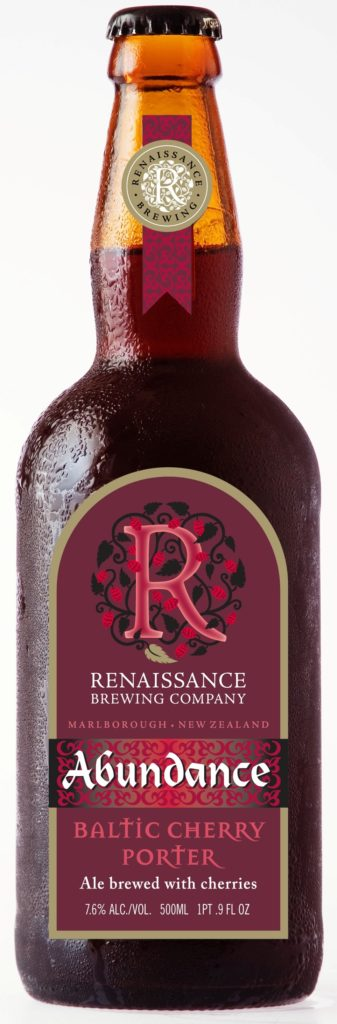 Bottle of abundance Ale