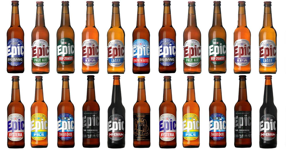 Epic Beer Bottles