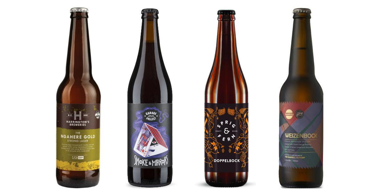 bock beers from new zealand